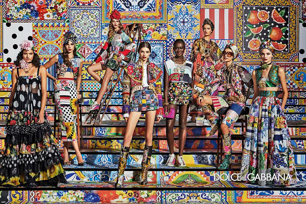 Claudia Gomez stars in the new Dolce&Gabbana SS21 campaign 1
