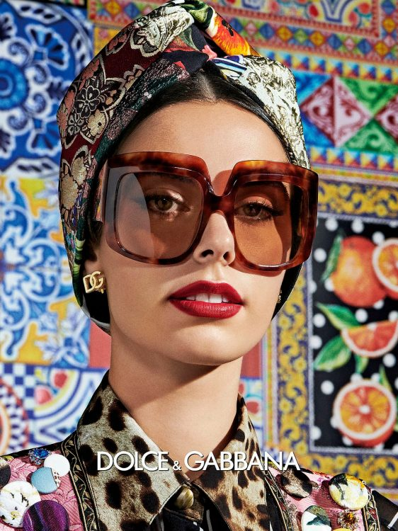 Claudia Gomez stars in the new Dolce&Gabbana SS21 campaign 2