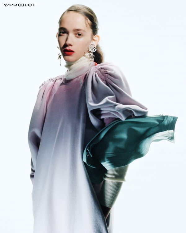 Stella Ripper, chosen by the firm Y/Project FW21 for its new campaign 1
