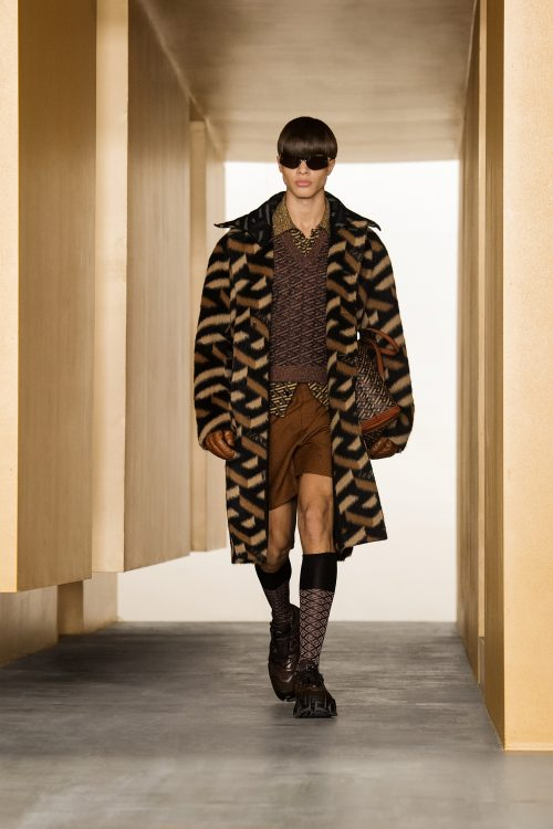 Nacho Penín and Simone Bricchi walk for Versace in Milan 1
